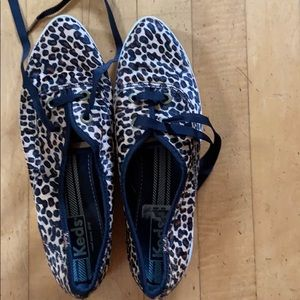 Keds leopard print shoes